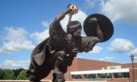 The Flying Scot at the Univ. of Edinboro by Irene Petree