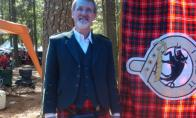 Ed Nisbet in his new Scottish clothing! by Irene Petree