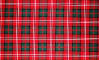 Modern tartan pattern in 11/12 oz. polyester viscose blend sold by the yard, (60in x 36in). Pricing: 1-10 yds., $45/yd., plus $12 shipping; 11 yds., $45/yd., plus $15 shipping; 12 or more yds., $45/yd., plus $15 plus $0.60 per yd. shipping.