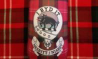 Keep your drink cold while looking stylish at your next tailgate or Highland Games.