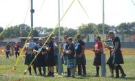 SCOTTISH GAMES CONTESTANTS by Charles Whalin